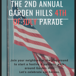 The 2nd Annual Garden Hills 4th of July Parade